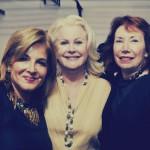 Leila Heller, Shaikha Paul al-Sabah of Kuwait et Margery Arent Safir (de gauche à droite)